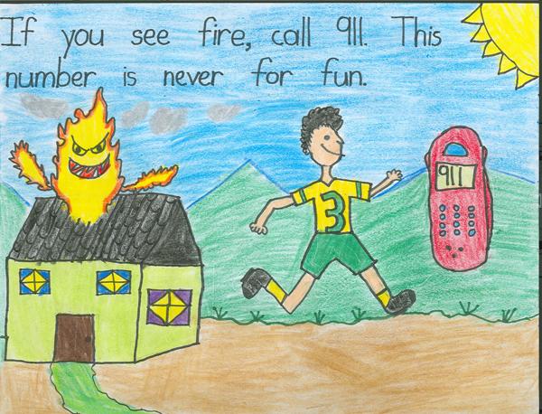 Poster: Prevención de fuego